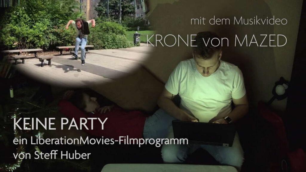 """LiberationMovies-Filmabend mit Musikvideo """"Krone"""" von Mazed"""
