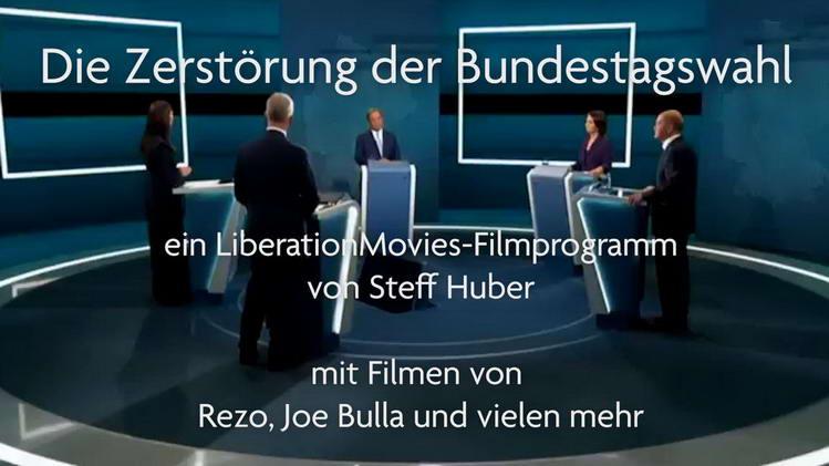 Ein LiberationMovies-Filmprogramm von Steff Huber mit Filmen von Rezo, Joe Bulla und vielen mehr