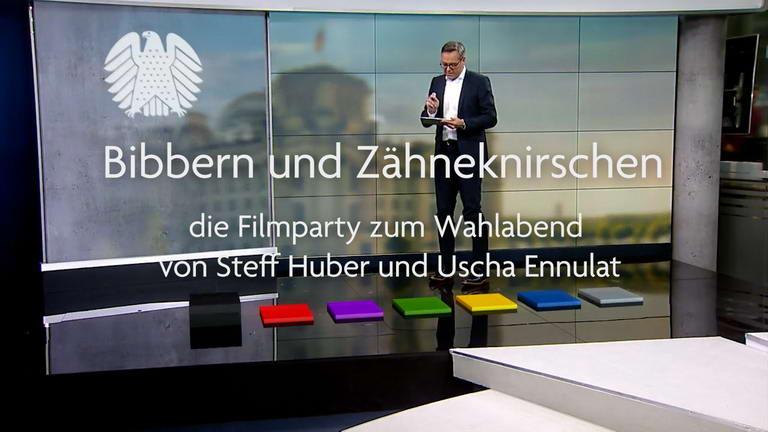 Bibbern und Zähneknirschen - Filmparty zum Wahlabend mit Steff Huber und Uscha Ennulat